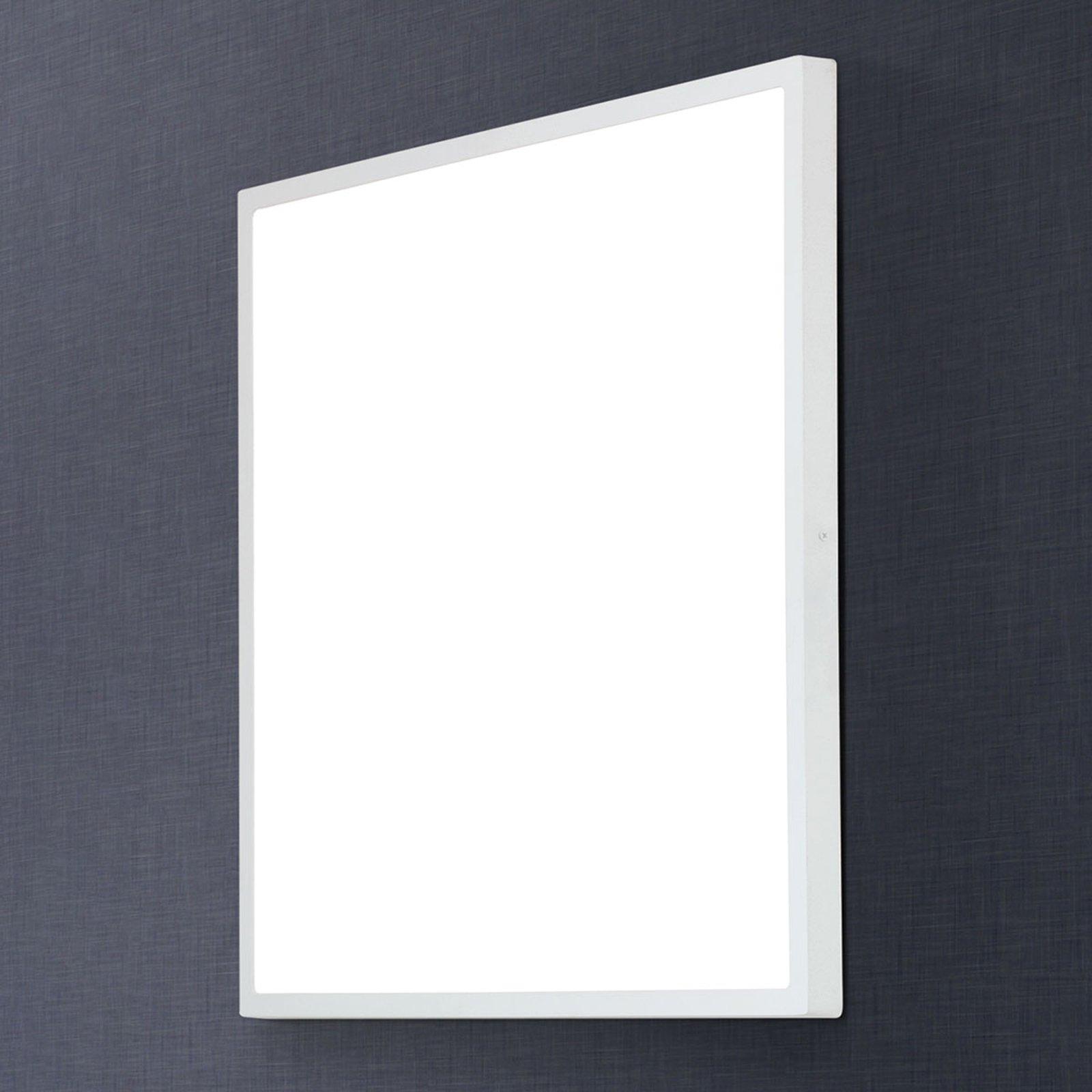 Kantet LED-taklampe Lero - 60 x 60 cm