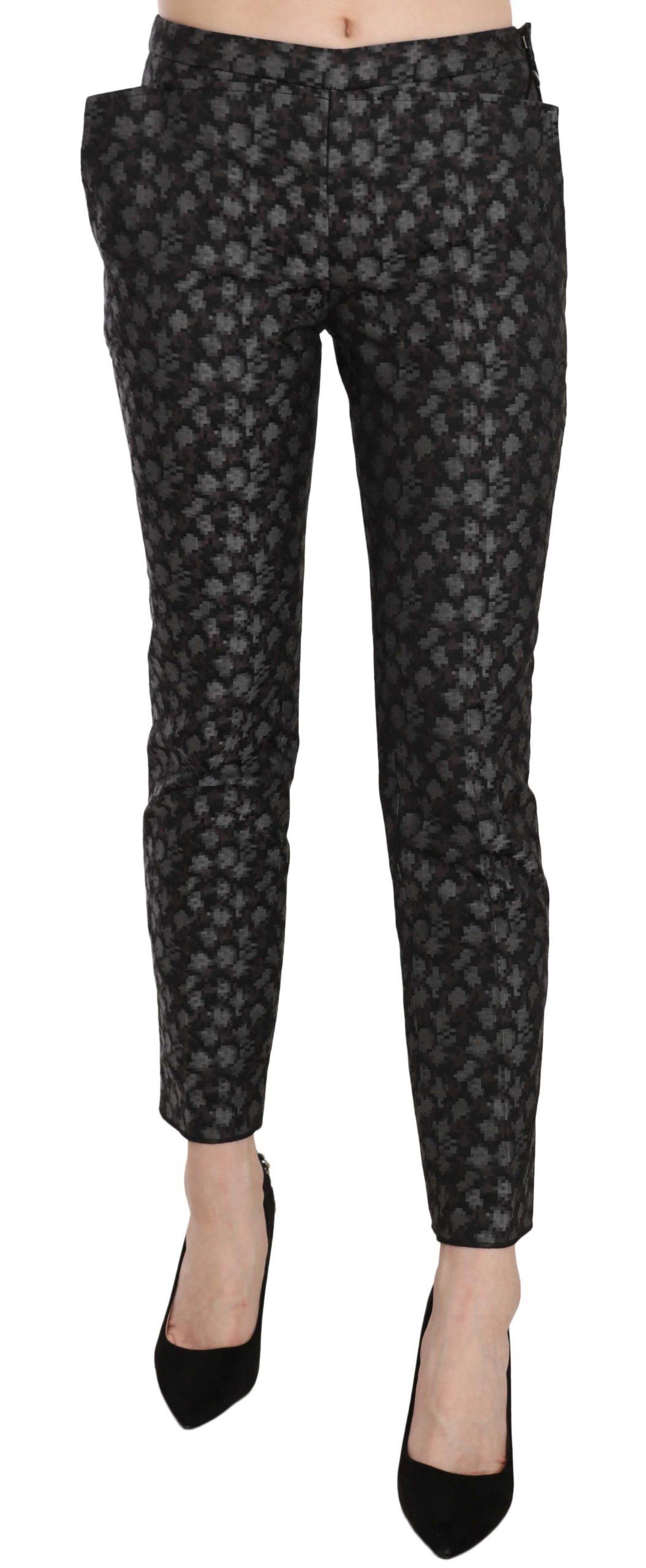 Just Cavalli Women's Low Waist Skinny Trouser Black PAN70336 - IT40|S