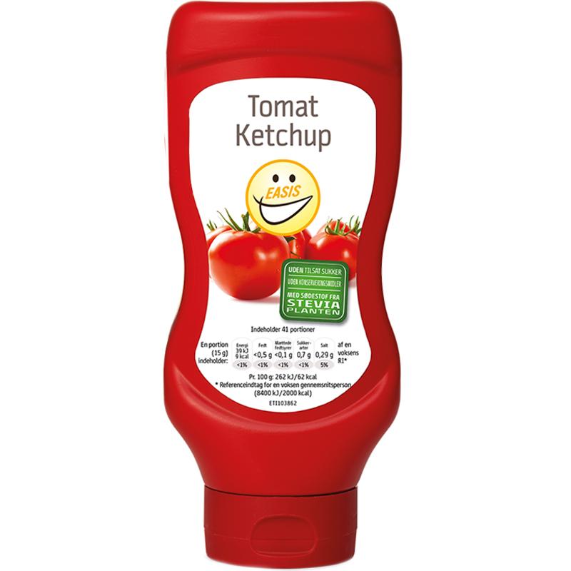 Ketchup 625g - 53% rabatt