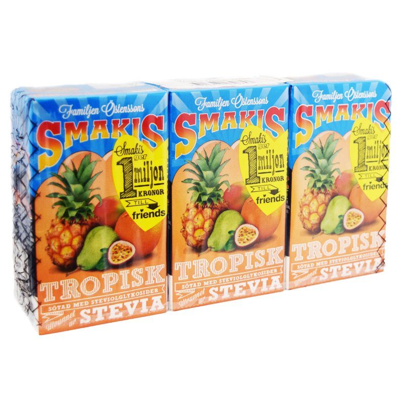 Tropisk-fruktdryck Stevia - 61% rabatt