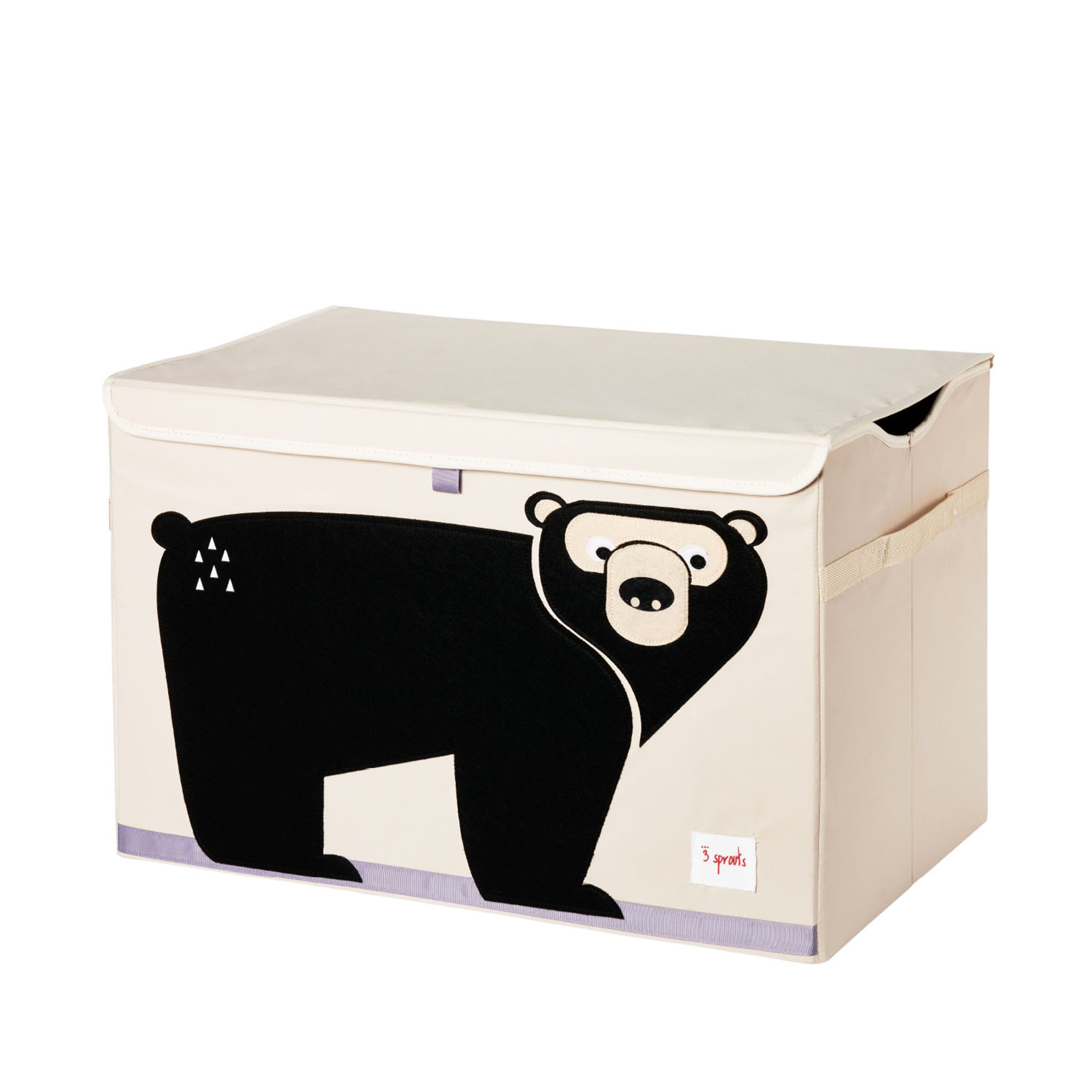 3 Sprouts - Toy Chest - Black Bear