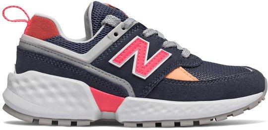 New Balance 547 Kids Sport Sneaker, Navy 30