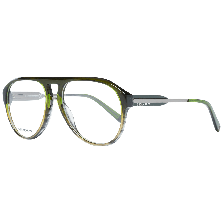 Dsquared² Men's Optical Frames Eyewear Green DQ5242 56098