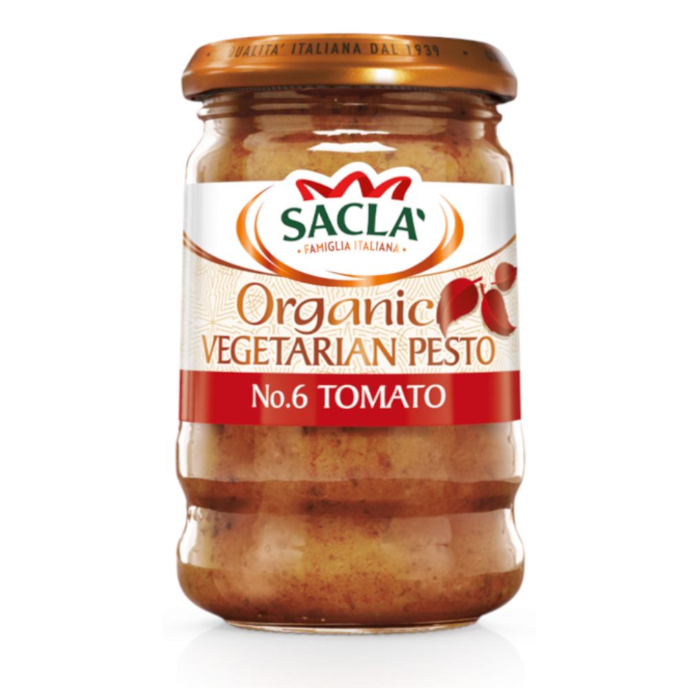 Sacla' Organic Tomato Pesto 190g