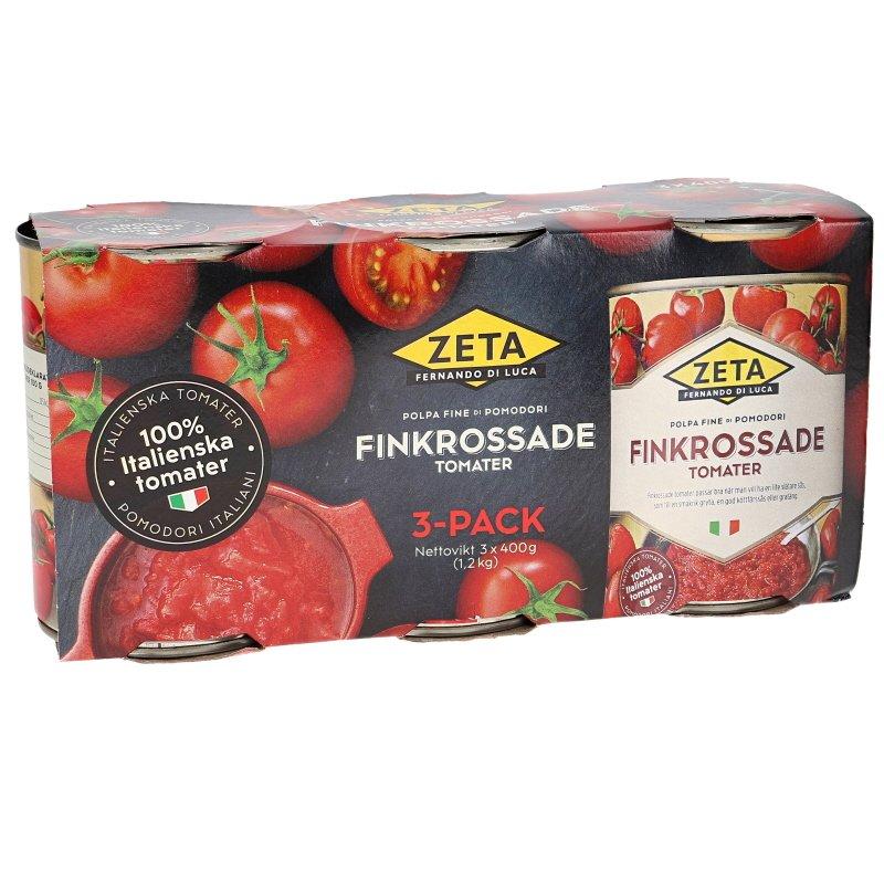 Finkrossade Tomater 3-pack - 50% rabatt