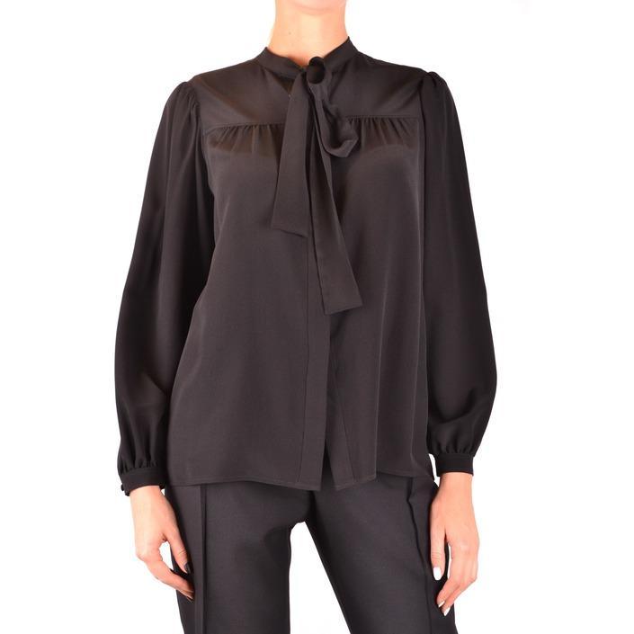 Saint Laurent Women's Shirt Black 187157 - black 36
