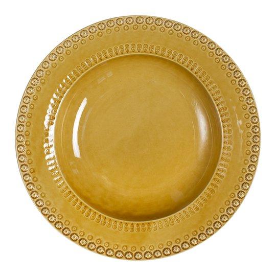 PotteryJo - Daisy Serveringsskål 35 cm Sienna