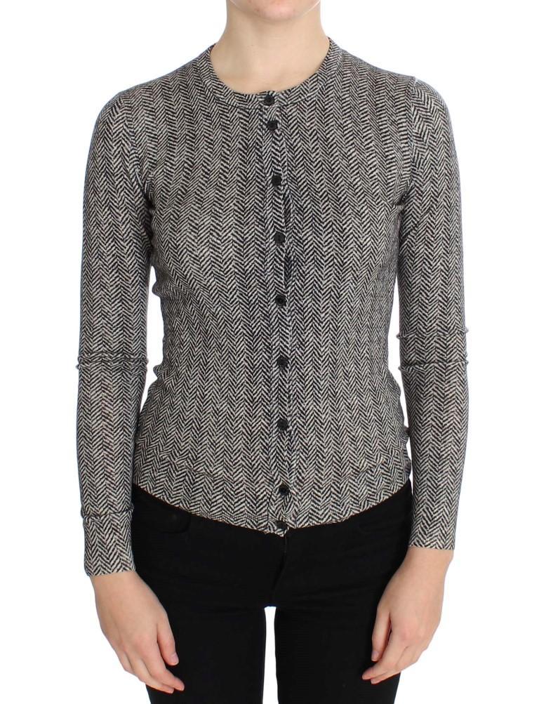 Dolce & Gabbana Women's Wool Top Cardigan Multicolor SIG20568 - IT38 | S