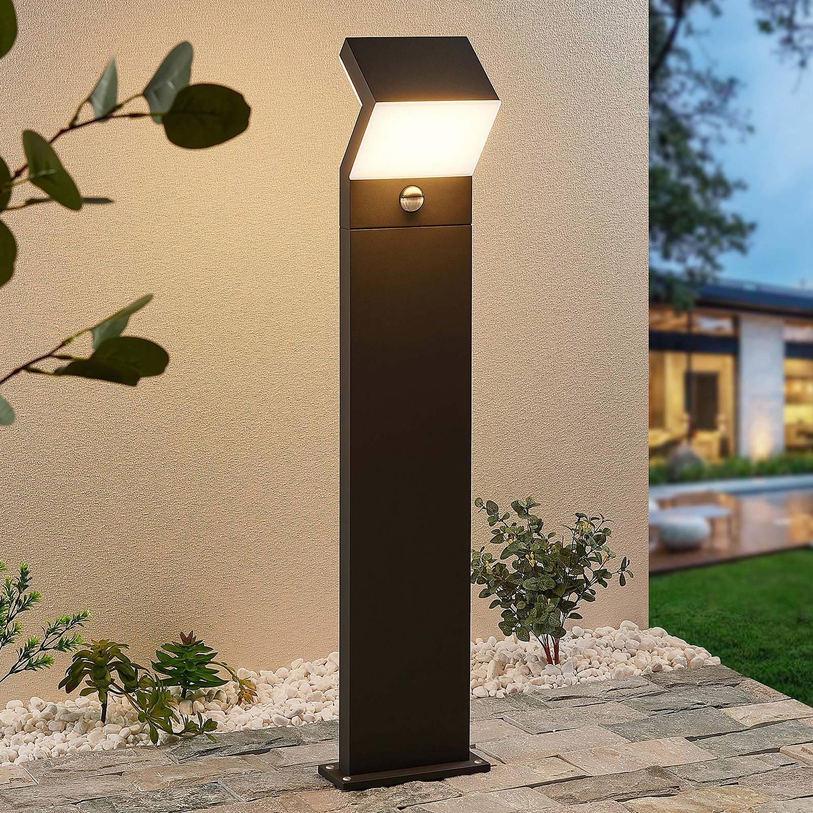 Arcchio Havin -LED-pylväsvalo liiketunnistimella