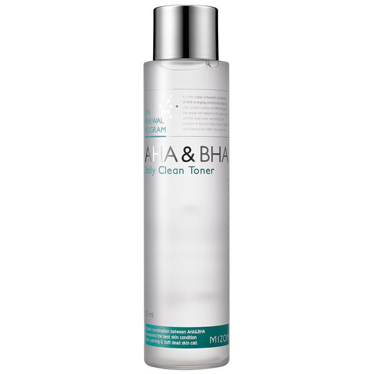 AHA & BHA Daily Clean Toner, 150 ml Mizon K-Beauty