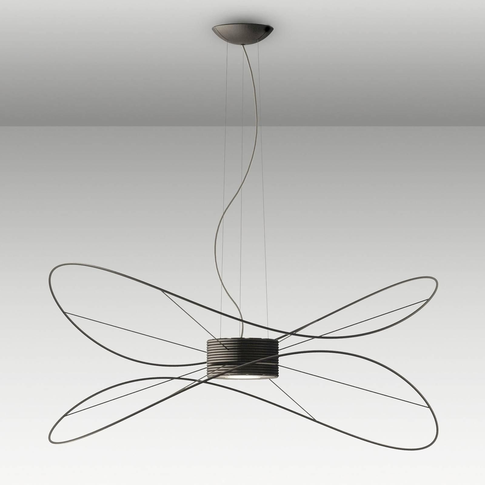 Axolight Hoops 2 LED-hengelampe, svart