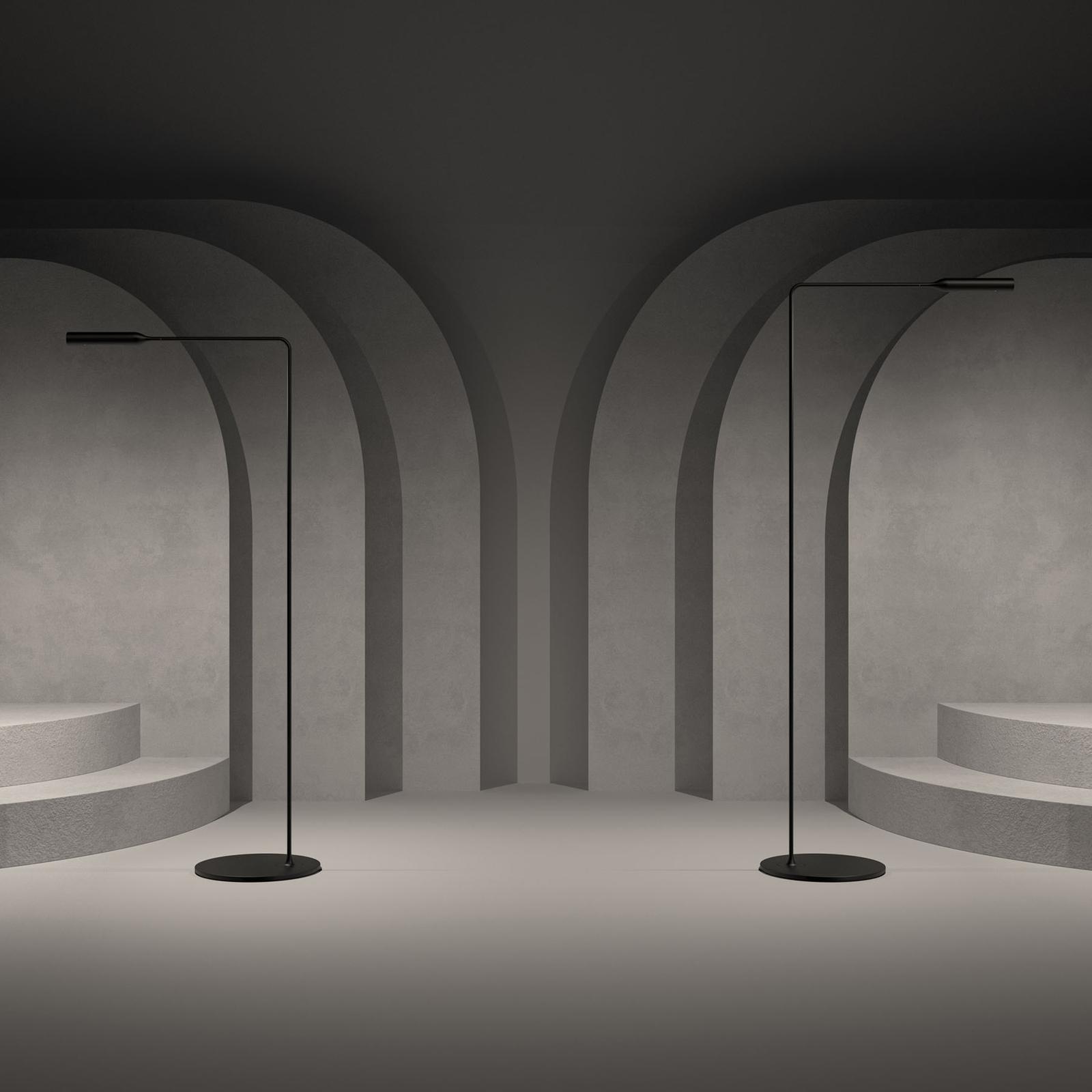Lumina Flo -LED-lattiavalo 3 000 K musta