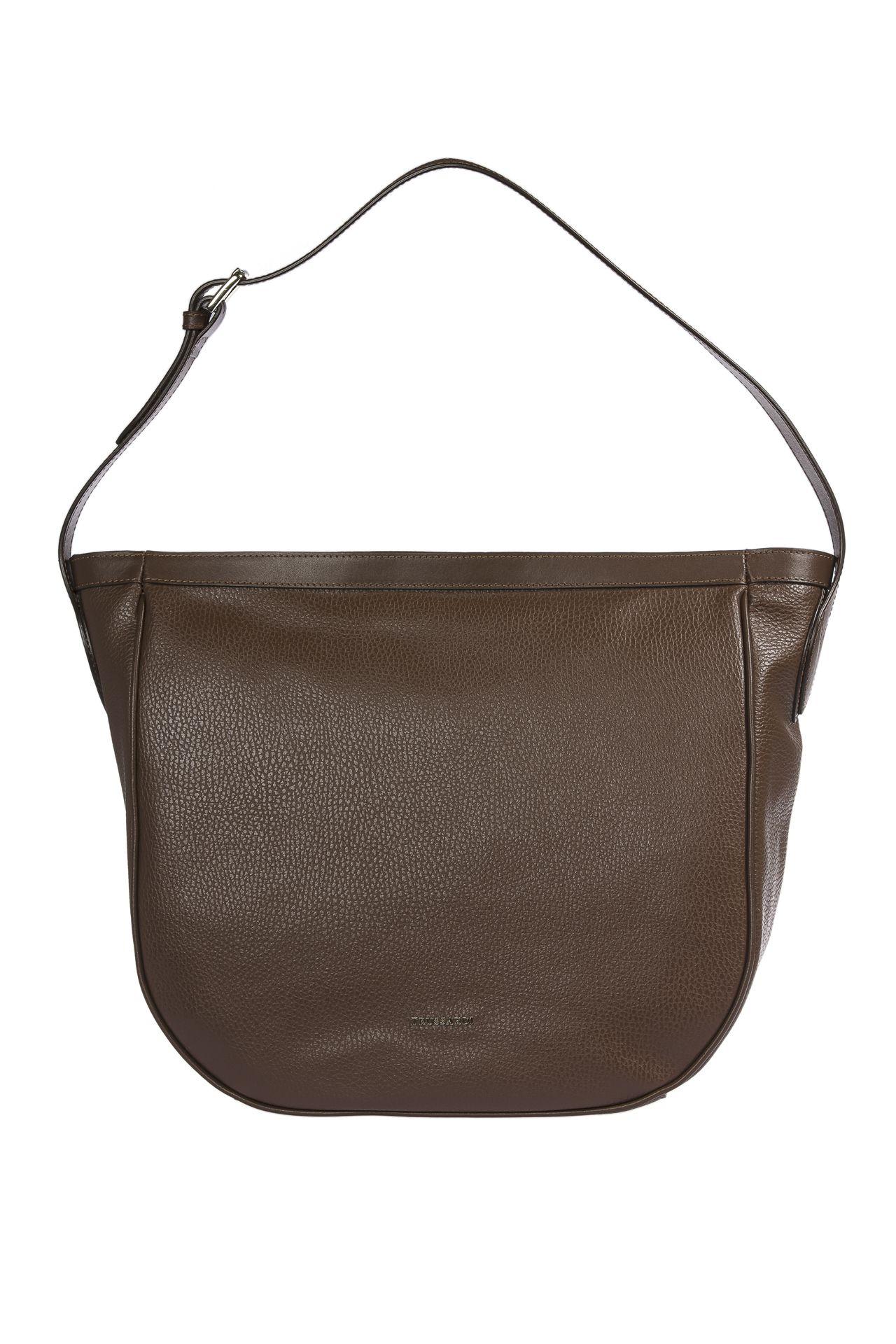 Trussardi Women's Shoulder Bag Brown 1DB517_69DarkBrown