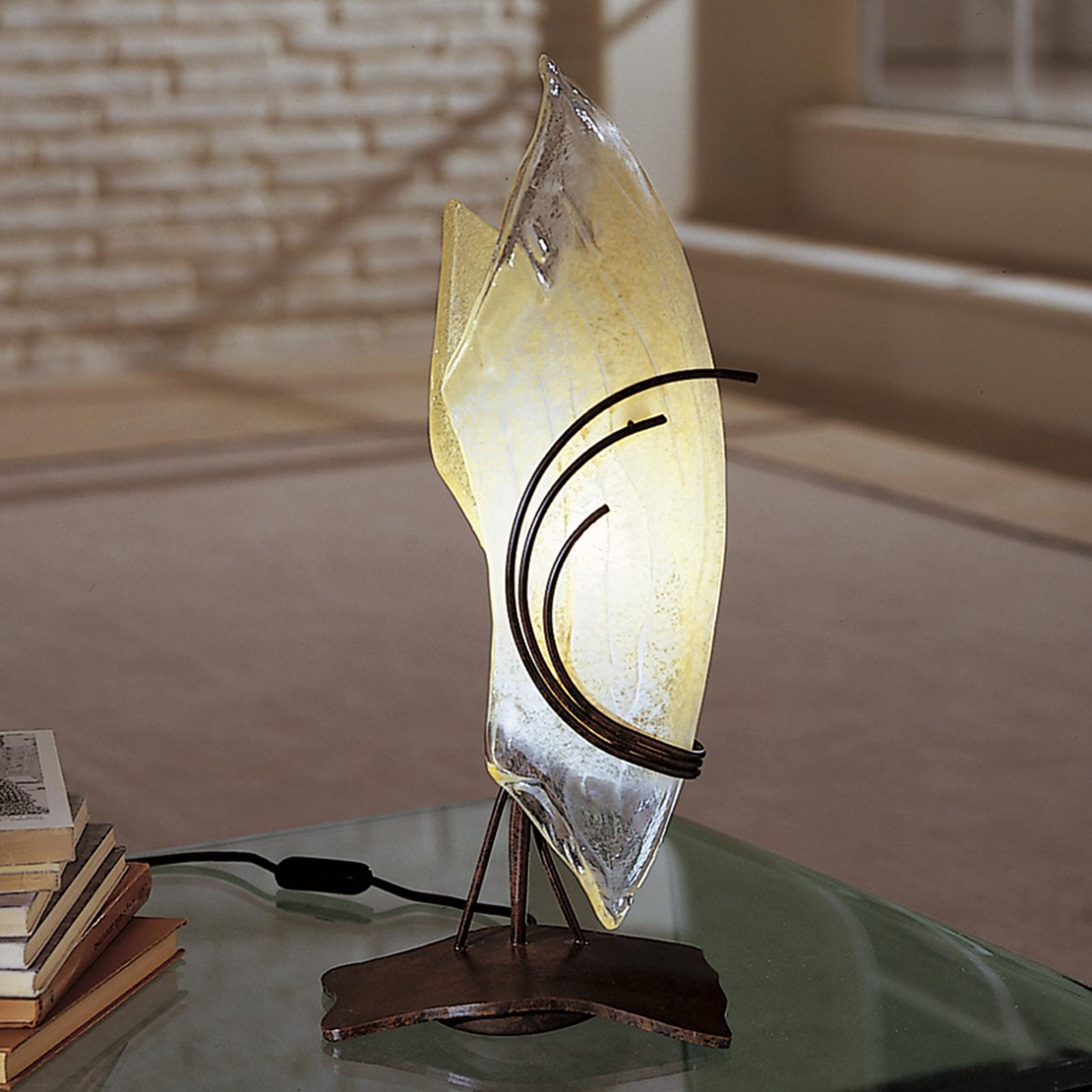 Design-pöytävalaisin ROMA 48 lasi oikealle