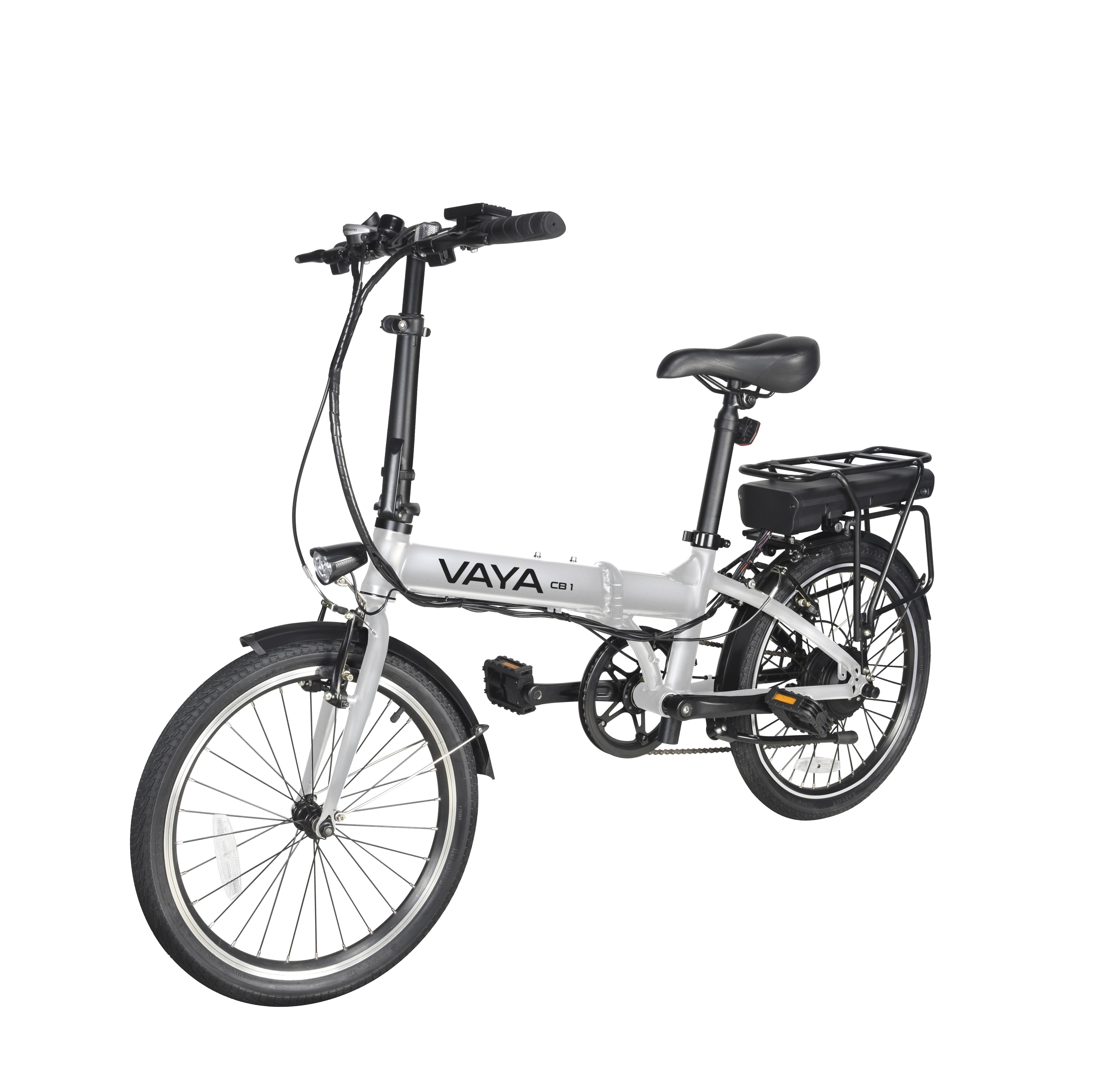 Vaya - CB-1 Electric City Bike - Silver (1641SL)