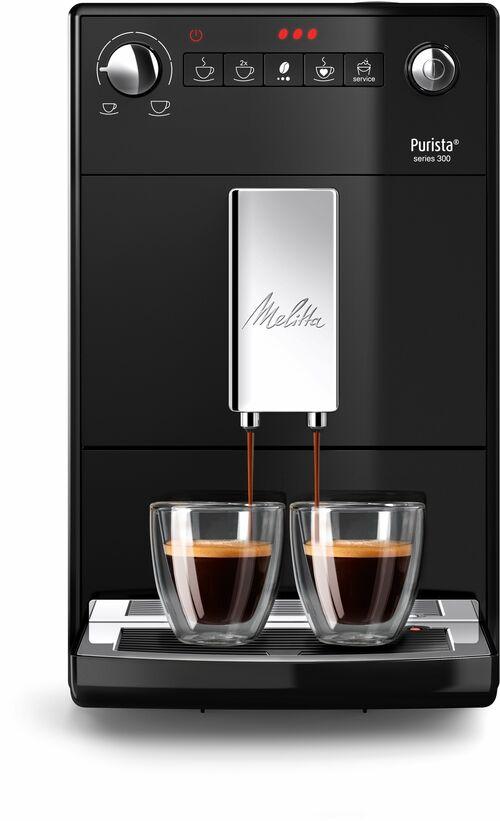 Melitta Purista Black Espressomaskin - Svart