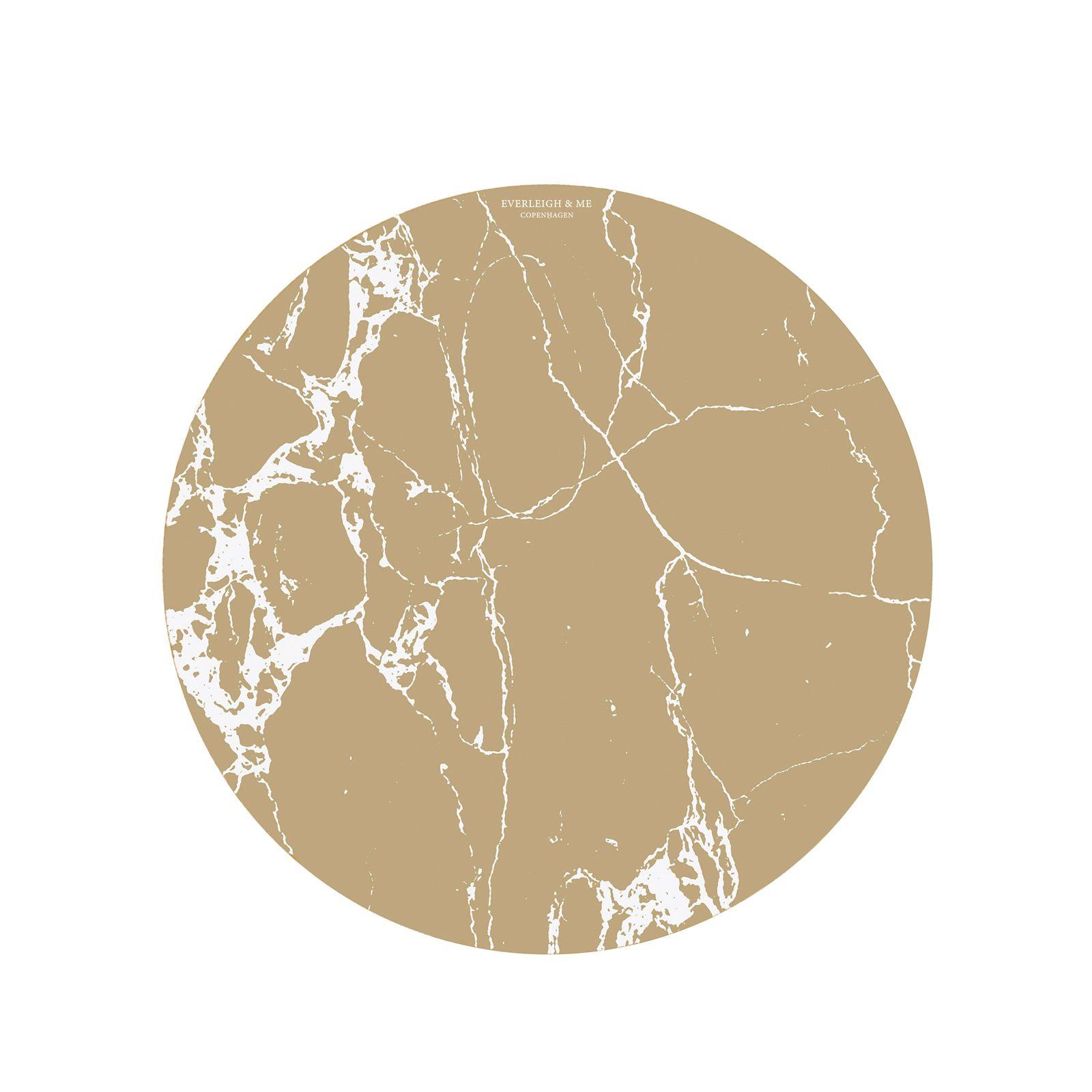 Everleigh & Me - Splat Mat, Brown marple (38BROWNMARBLE)