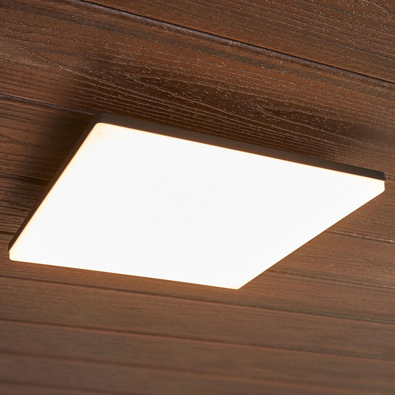 Neliönmallinen Henni-LED-katovalaisin, 30 cm
