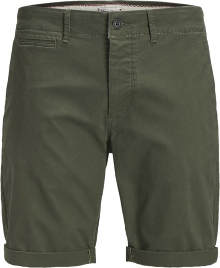 Jack & Jones Enzo Chino Shorts, Olive Night 170