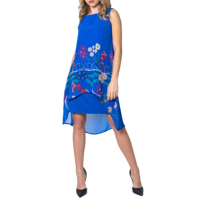 Desigual Women's Dress Blue 173299 - blue 36
