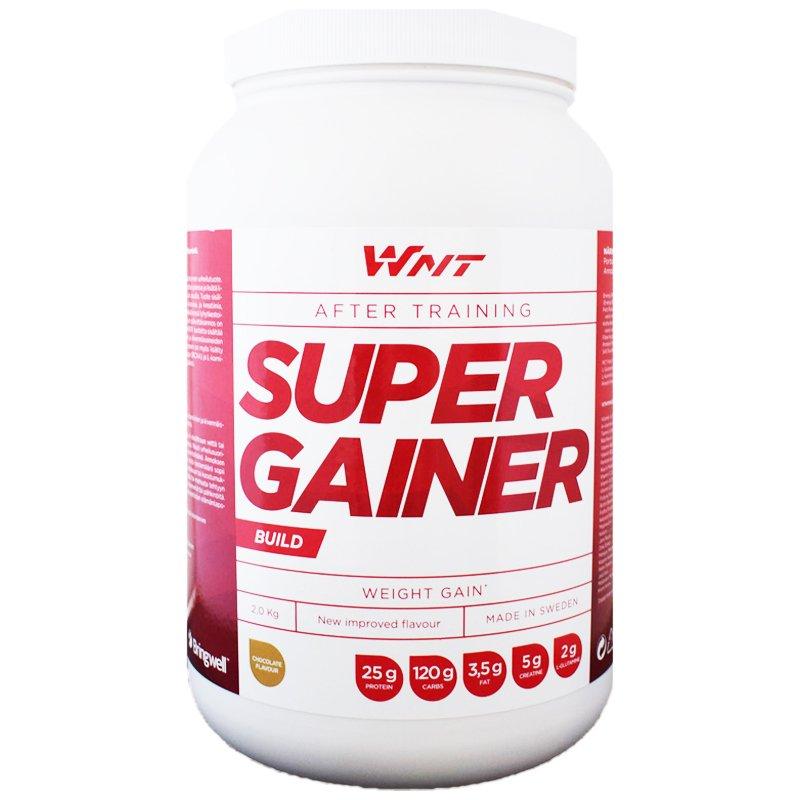 """Proteiinijauhe """"Super Gainer"""" Suklaa 2kg - 33% alennus"""