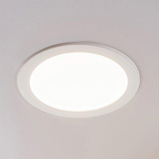 LED-kohdevalo Joki valkoinen 3000K pyöreä 24cm