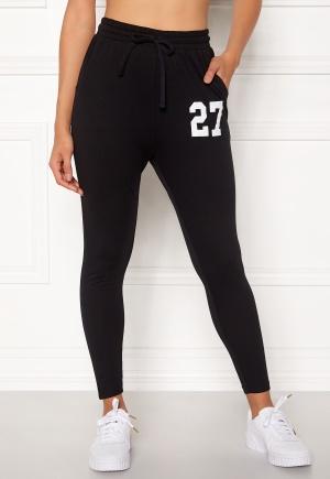 Happy Holly Carolyn tricot pants Black 32/34