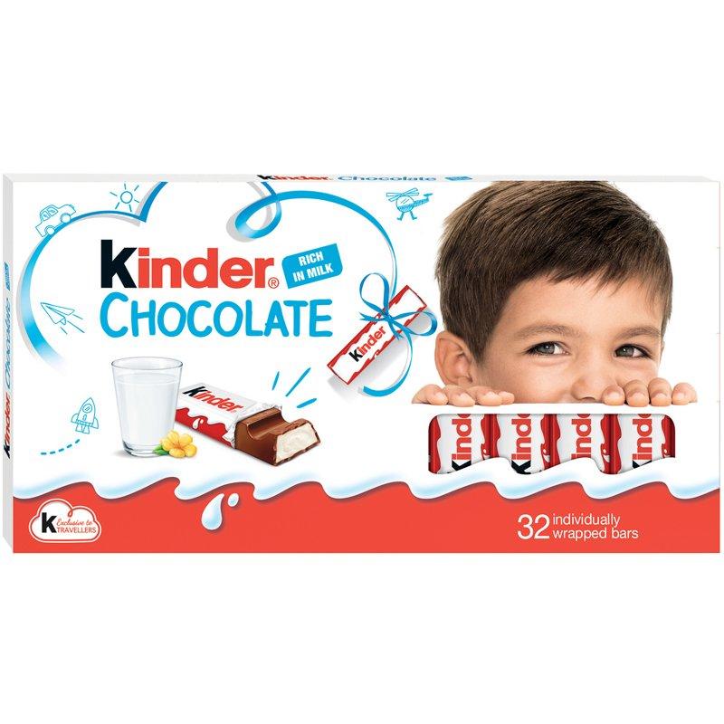Kinder choklad - 44% rabatt
