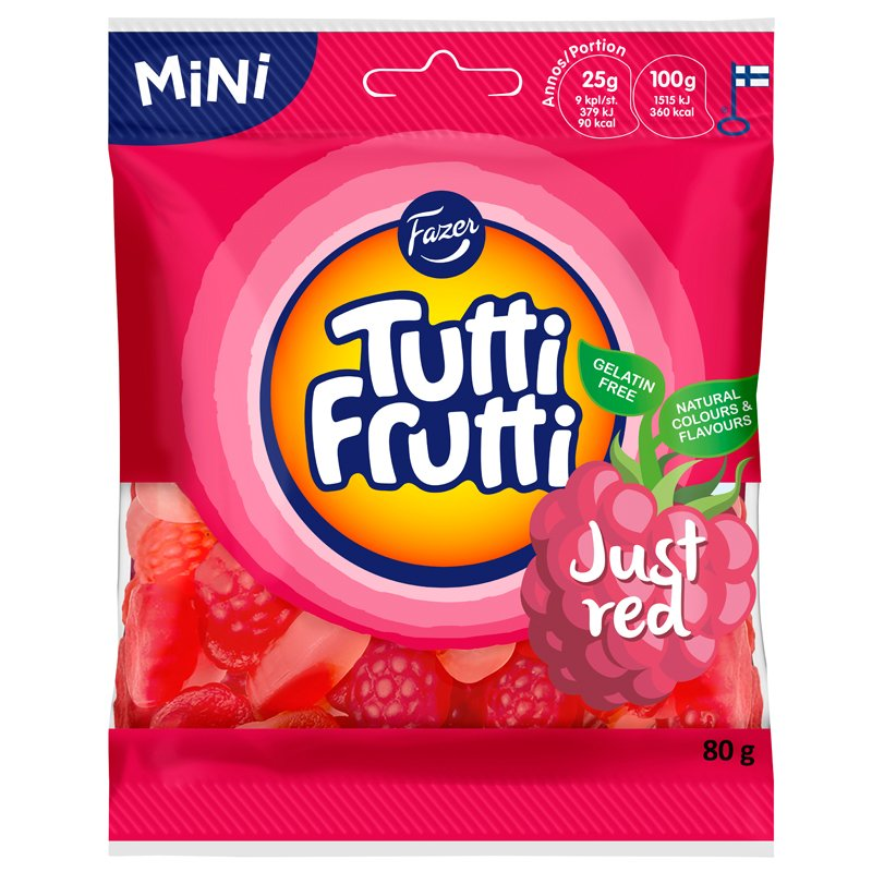 Tutti Frutti Just Red - 16% rabatt