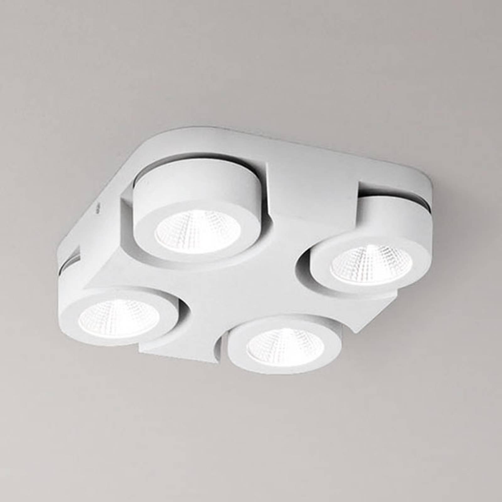 Kvadratisk LED-taklampe Hella