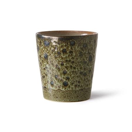 70s ceramics Kaffe Mugg Vulcano