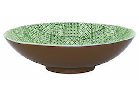 Salatsskål M Minerva Grønn Ø 35 cm