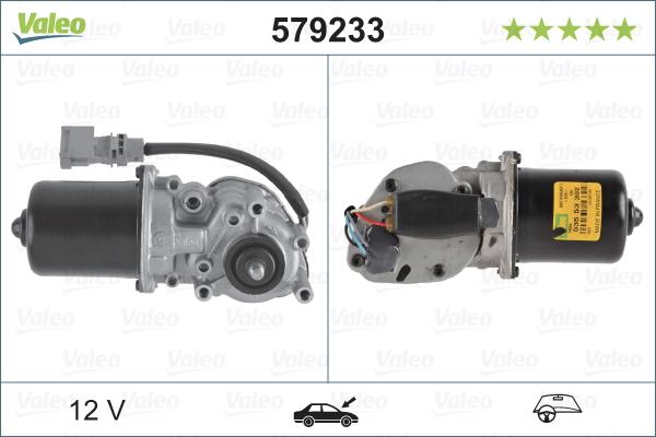 Pyyhkijän moottori VALEO 579233