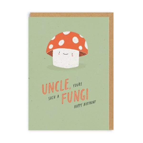 Uncle Fungi Birthday Greeting Card