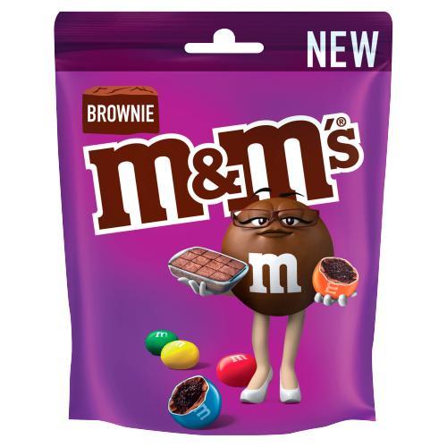 M&Ms Brownie 102g
