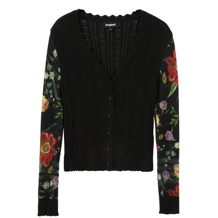 Desigual Women's Cardigan Black 319714 - black XS