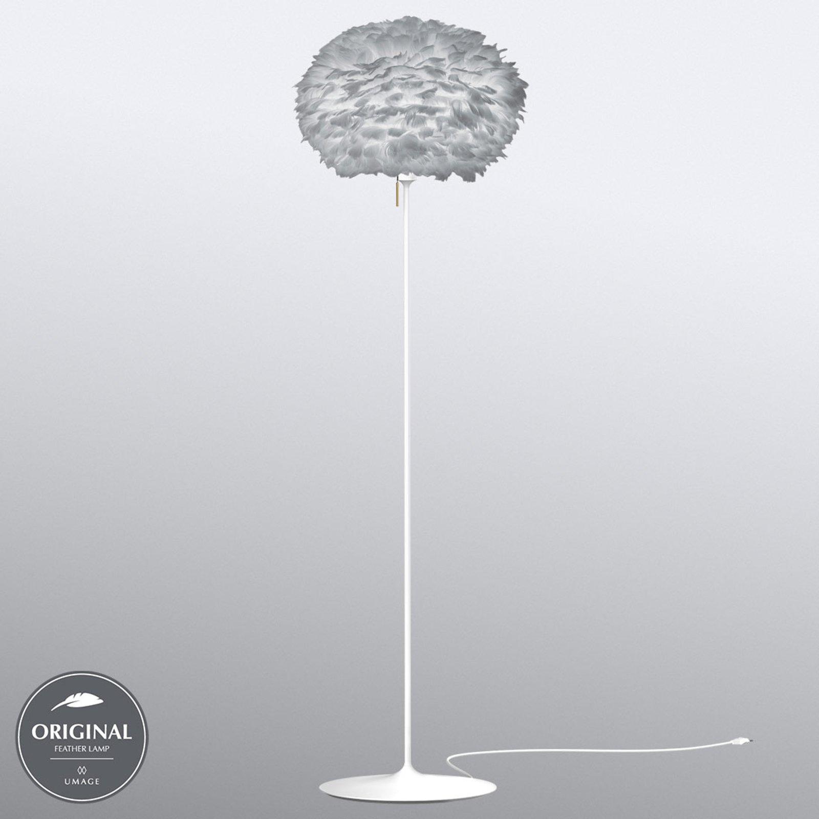 UMAGE Eos medium gulvlampe lysegrå