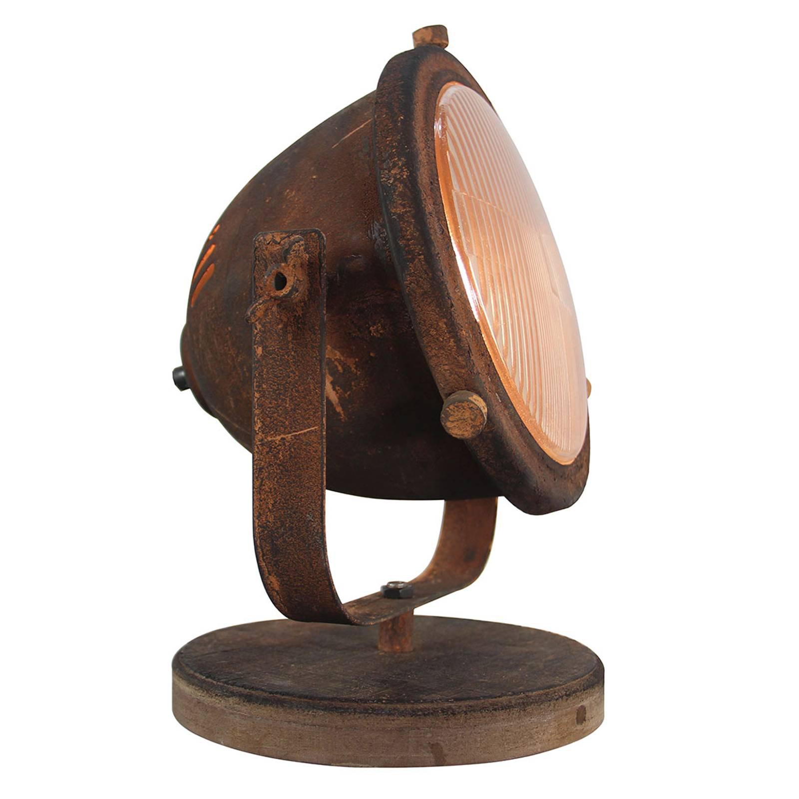 Bordlampe Woody, rust