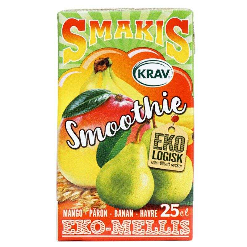 Eko Smoothie Mango Päron Banan & Havre 25cl - 27% rabatt