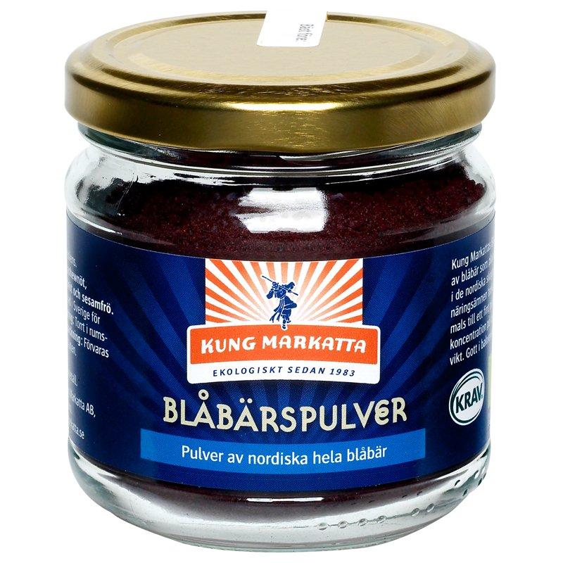 Eko Blåbärspulver - 48% rabatt