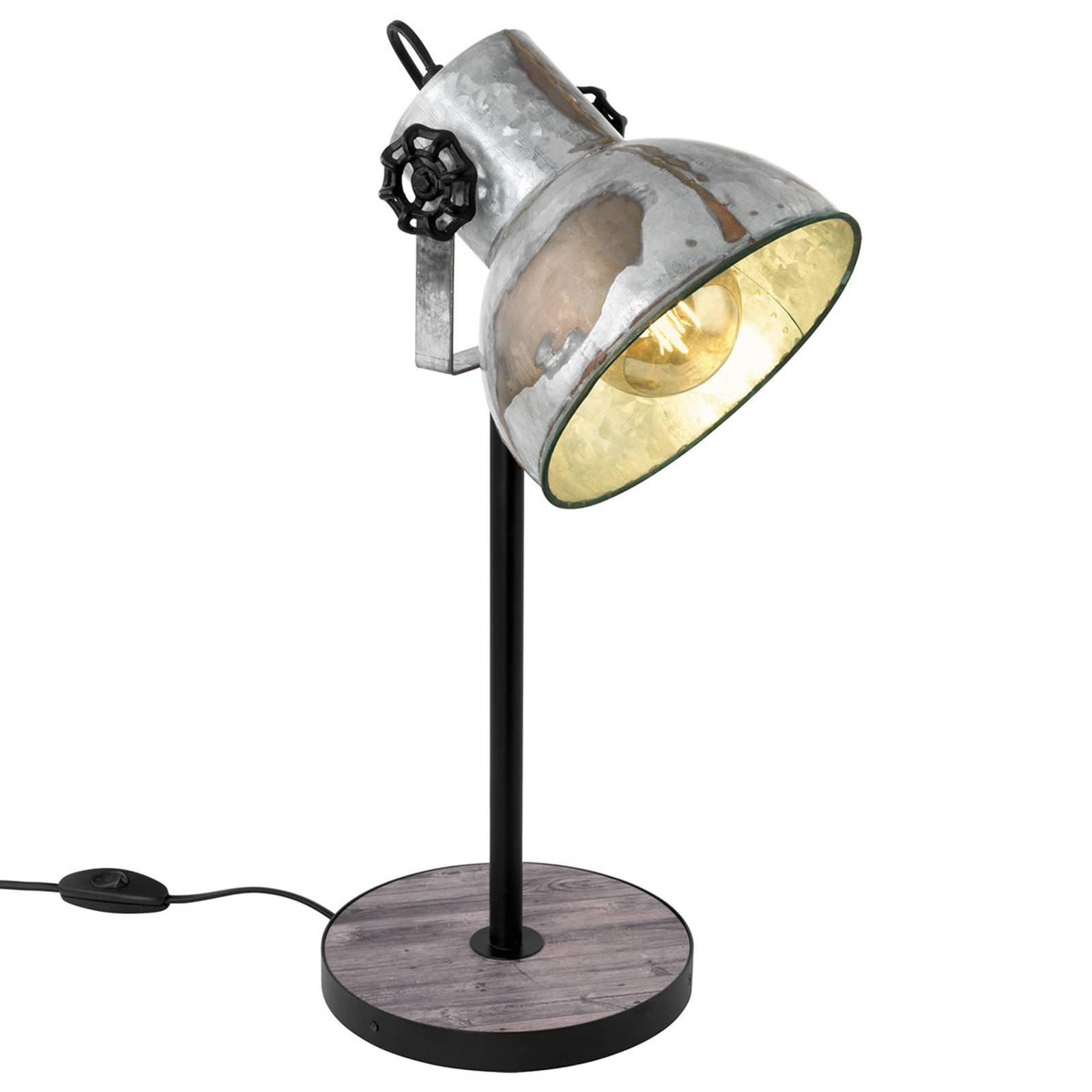 Bordlampe Barnstaple i industriell stil