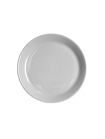 Höganäs Keramikk asjett med kant 20 cm grå blank