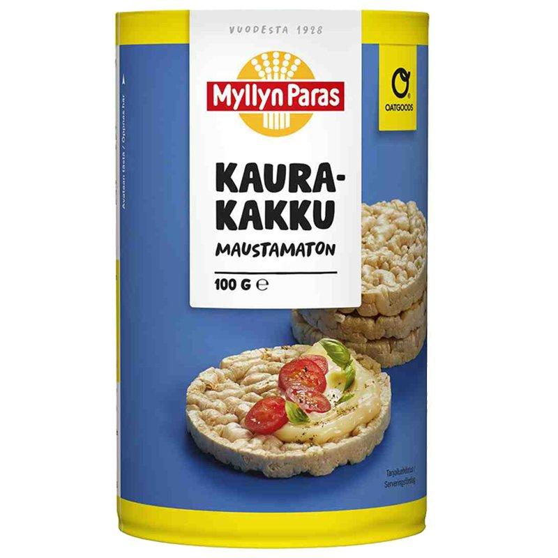 Kaurakakku Maustamaton - 40% alennus