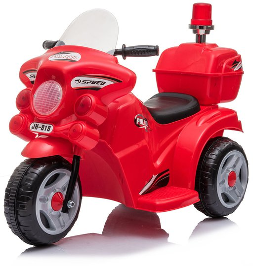 Alex's Garage Elmotorsykkel Politi, Rød