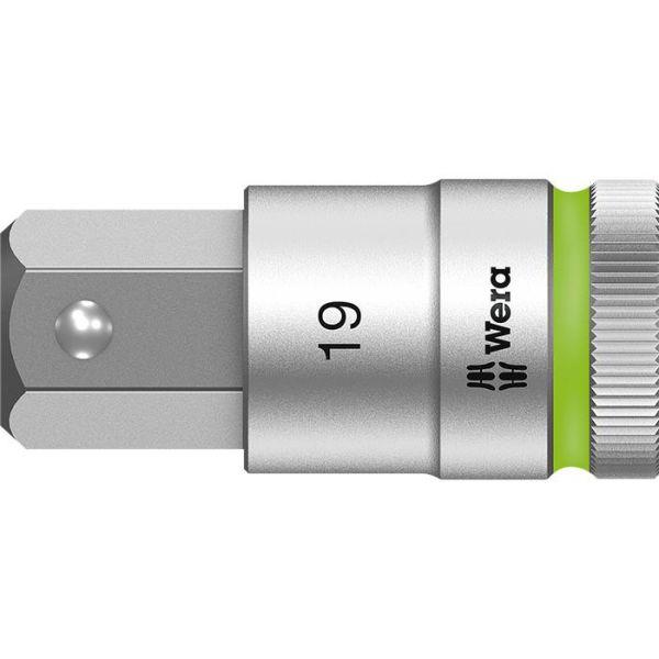 "Wera 8740 C HF Sekskanthylse 1/2"" 19 mm, 60 mm lang"