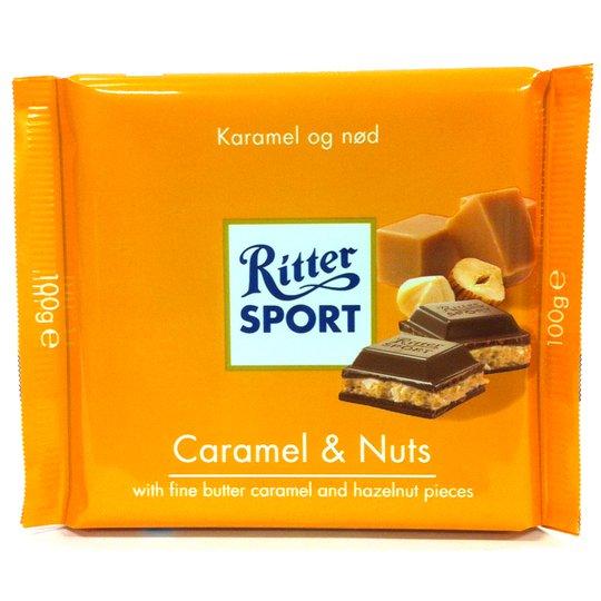 Ritter Sport Caramel & Nuts - 37% rabatt