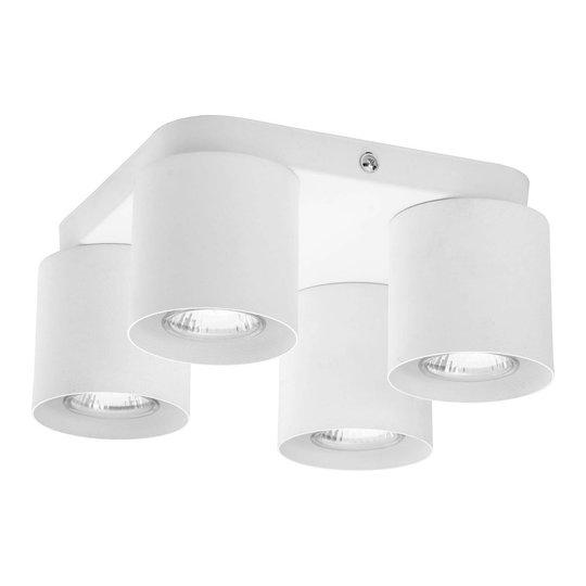 Vico taklampe, 4 lyskilder, hvit