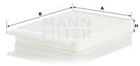 Raitisilmasuodatin MANN-FILTER CU 30 012