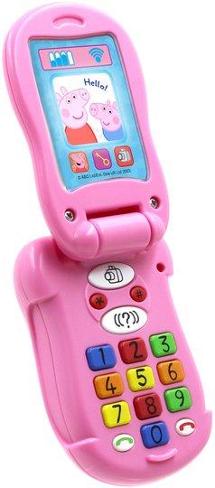Peppa Gris Flip & Learn Telefon