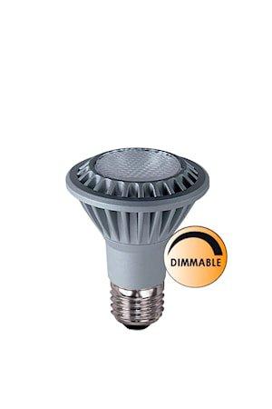 Lyspære LED Spot E27 Krom Dimbar